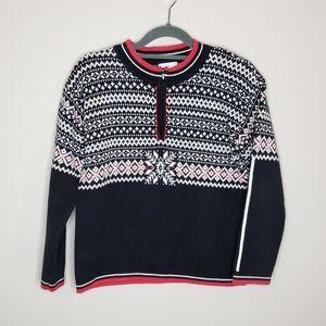 Hanna Andersson Crew Neck Sweater Snowflake